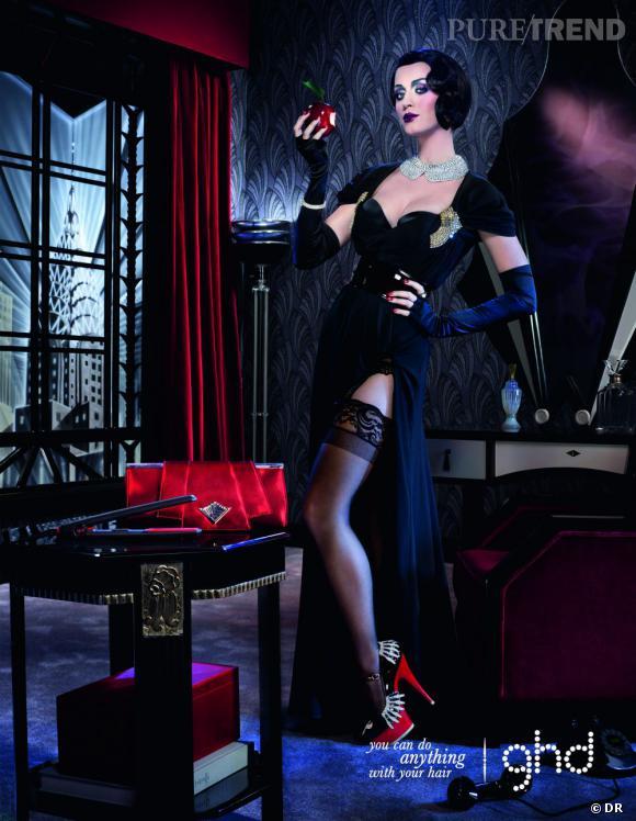 Katy Perry pour l'édition limitée Scarlet de Noël shootée par David LaChapelle.