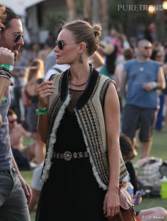 Kate Bosworth et le chignon comme il faut.