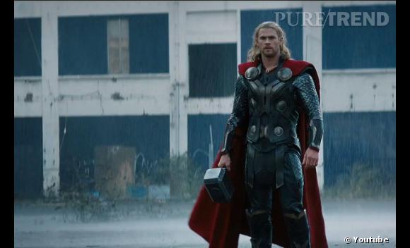 On peut encore s'attendre à de jolies scènes de combat avec le fameux marteau de Thor.