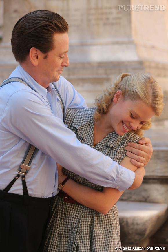 """""""Pour une femme"""" : les premières images du film. Mélanie Thierry et Benoît Magimel en tournage."""