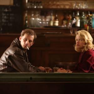 """""""Pour une femme"""" : les premières images du film. Mélanie Thierry et Nicolas Duvauchelle se cachent."""