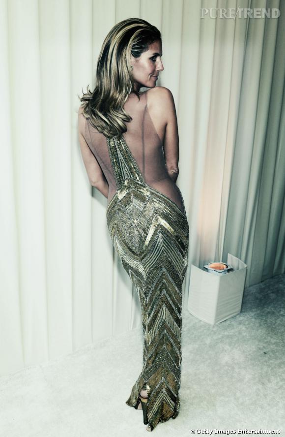 Heidi Klum ne porte pas de culotte...