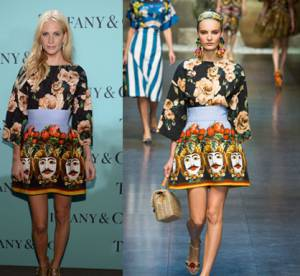 Poppy Delevingne, Katy Perry, Katie Holmes : les stars en Dolce et Gabbana collection Printemps 2013