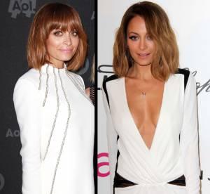 Nicole Richie : carre vs carre frange, le match coiffure