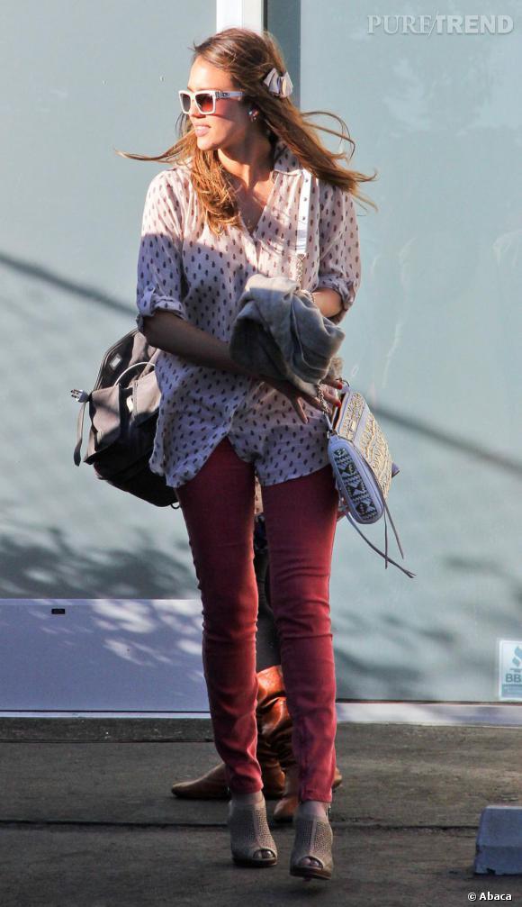 Les stars sont fans de MIH Jeans comme Jessica Alba