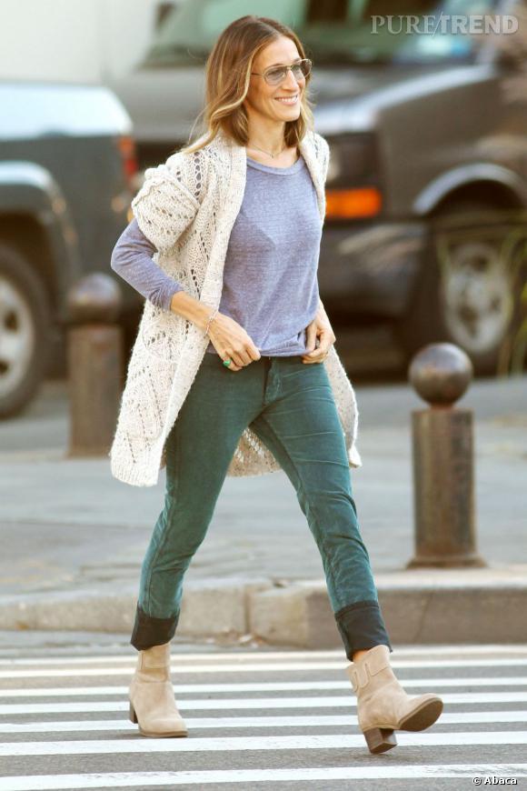 Jessica parker adore les jeans MIH