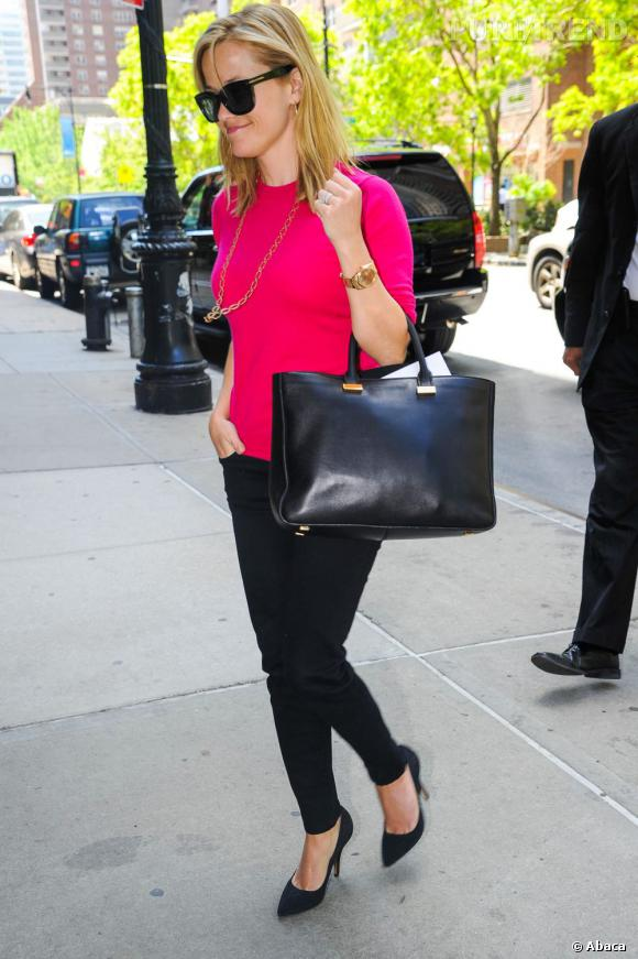 Reese Witherspoon à New York.