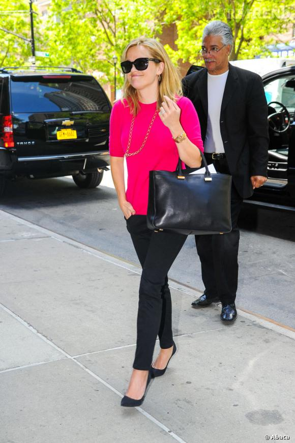 Reese Witherspoon, girly et chic à la fois.