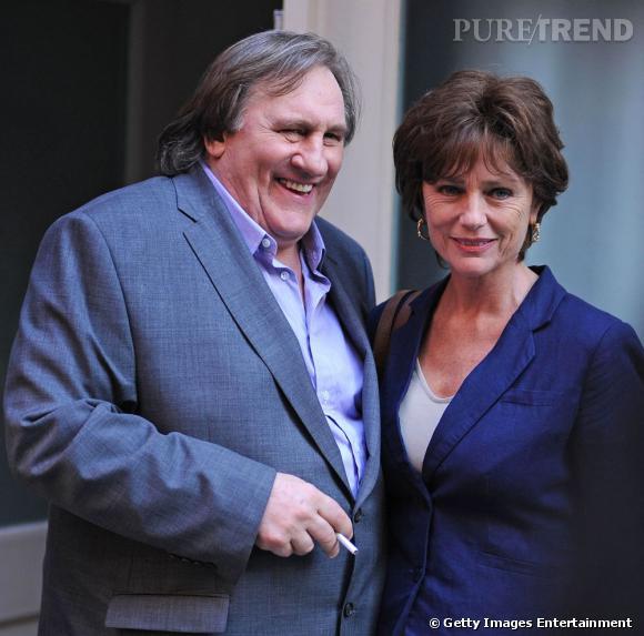 """Gérard Depardieu et Jacqueline Bisset dans """"Welcome to NY""""."""