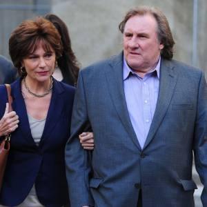 """Gérard Depardieu incarne l'""""arrogant et suffisant"""" DSK."""