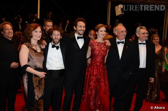 """L'équipe du film """"As I Lay Dying"""", pour la projection au Festival de Cannes."""
