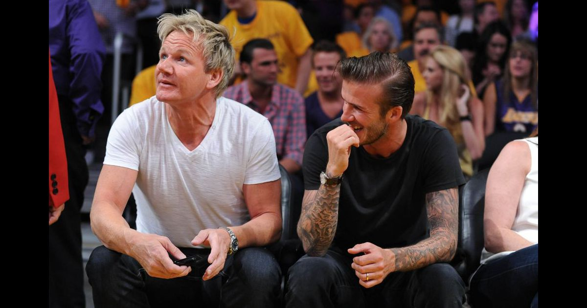 david beckham et gordon ramsay les ins parables vont ouvrir un restaurant londres en. Black Bedroom Furniture Sets. Home Design Ideas