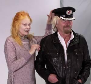 Vidéo de la collaboration entre Sir Richard Branson et la créatrice Vivienne Westwood.