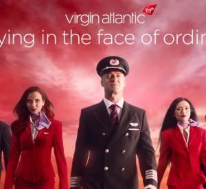 Spot publicitaire Virgin Atlantic ou les 5 fantastiques de la compagnie aérienne Virgin.