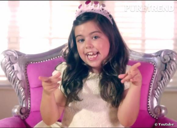 Sophia Grace, la mini rappeuse en herbe.