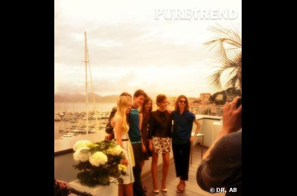 """""""The Bling Ring"""" : l'équipe au complet à Cannes !"""