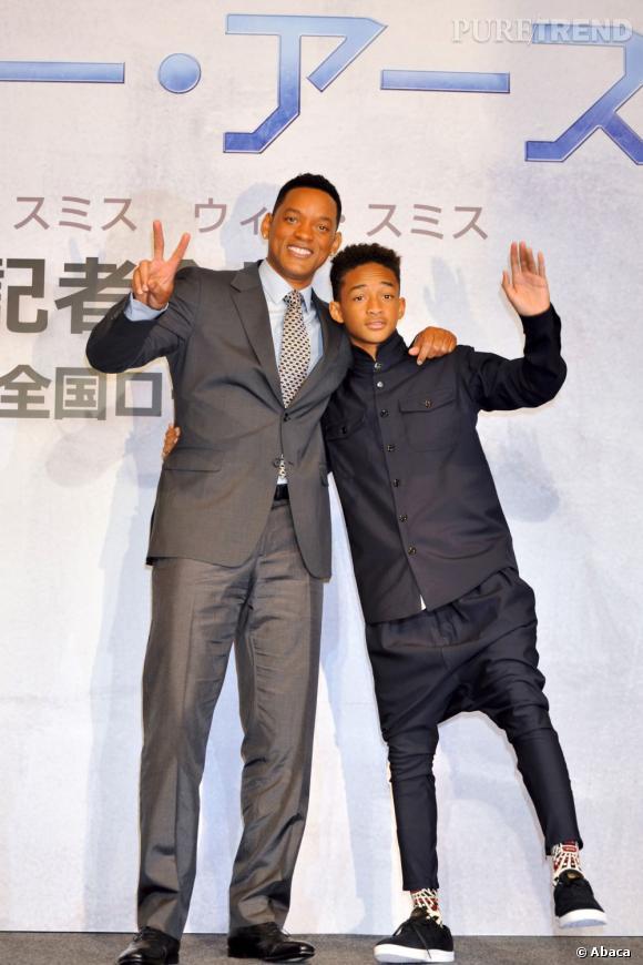 "Will Smith et Jaden Smith : ce dernier aimerait reprendre le flambeau ""Men In Black""."