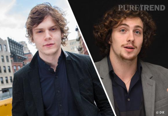 Il y a donc deux acteurs pour un même personnage : Evan Peters et Aaron Johnson.