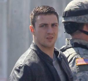 Aaron Taylor-Johnson tourne actuellement un film sur Godzilla.