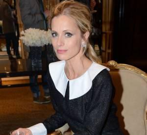 Laura Bailey célèbre la nouvelle boutique Chanel de Londres.