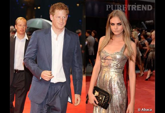 Prince Harry et Cara Delevingne, alerte couple ?