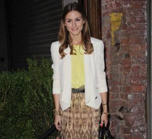 Olivia Palermo, jupe longue, maxi succes... A shopper !