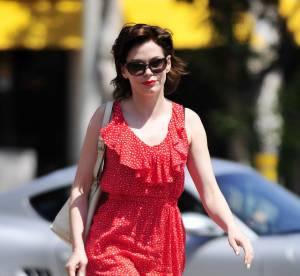 Rose McGowan, une framboise estivale... a shopper !