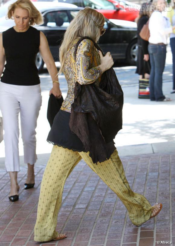 Fergie se la joue désormais hippie.