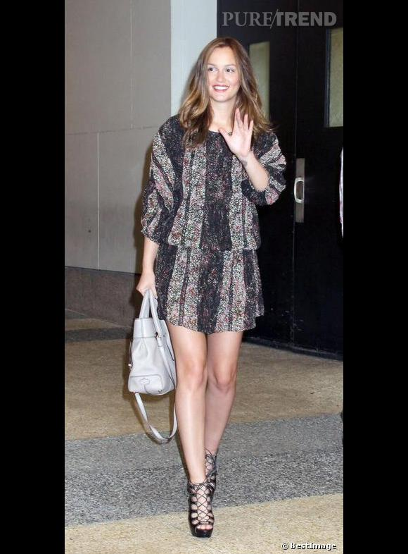 Leighton Meester l'aime discret.