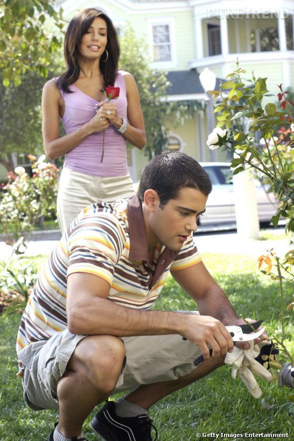 """Jesse Metcalfe a charmé Gabrielle Solis dans son rôle de jardinier dans """"Desperate housewives"""" en 2004."""