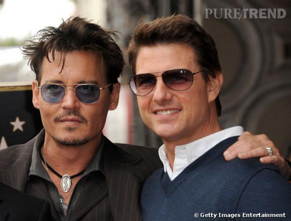 Johnny Depp et Tom Cruise ont arpenté le tapis rouge pour rendre hommage à Jerry Buckheimer qui a reçu son étoile sur la Walk of Fame, le 24 juin 2013.