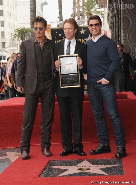 Johnny Depp et Tom Cruise, les sex-symbol ne semblent pas avoir pris de rides.