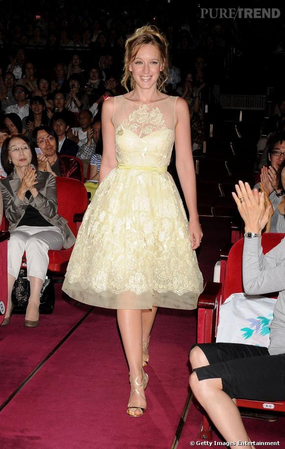 Ludivine Sagnier au festival du film français de Tokyo.