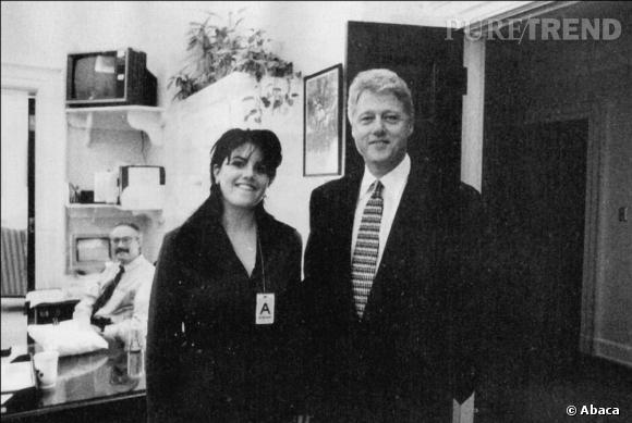 Bill Clinton et Monica Lewinsky en 1995. Trois ans avant la fameuse affaire.