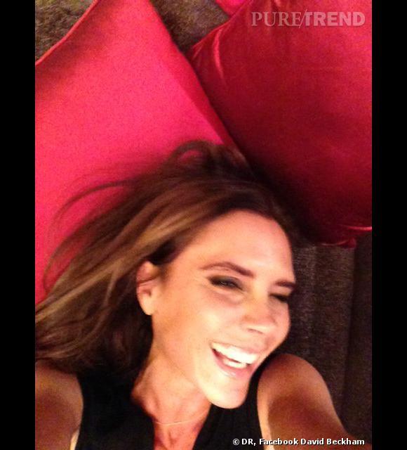 Victoria Beckham : le cliché unique où on la voit sourire !