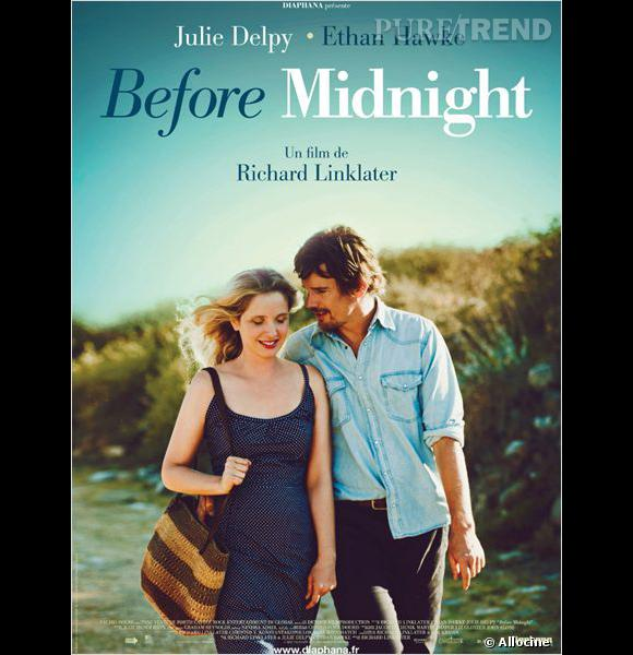 """Before Midnight"" de Richard Linklater avec Julie Delpy et Ethan Hawke."