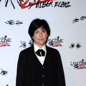 Sharleen Spiteri lors du Lancôme Show d'Alber Elbaz à Paris.
