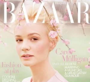 Carey Mulligan pour le magazine Harper's Bazaar.