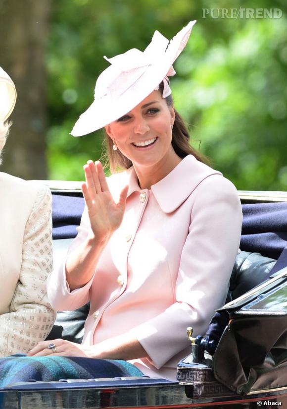 Dernière apparition de Kate Middleton enceinte, et déjà on imagine ses tenues post-bébé.