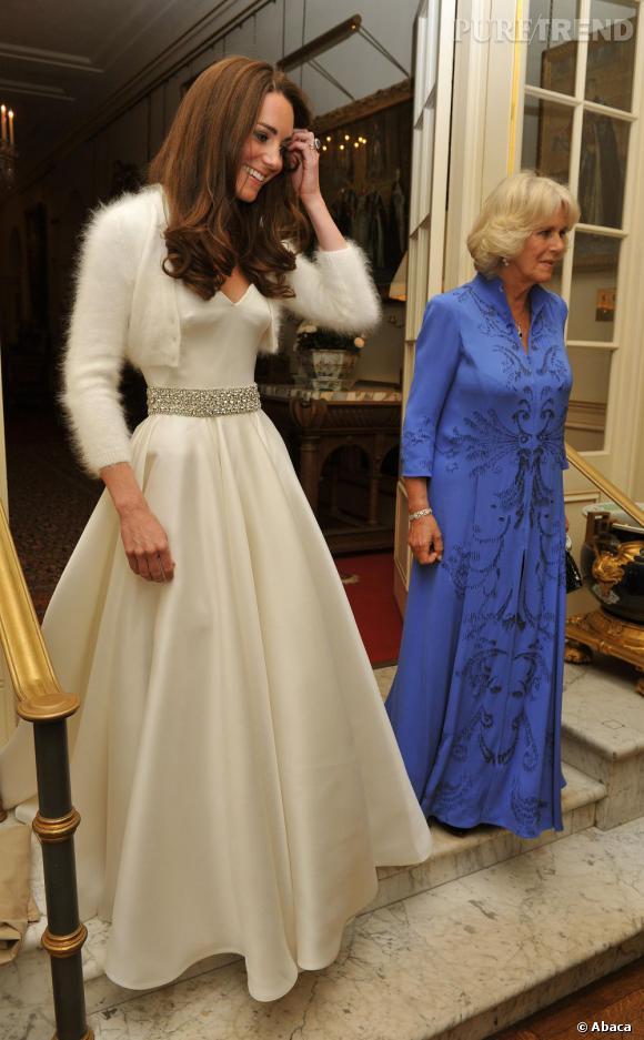Kate Middleton continue de charmer les Anglais après la cérémonie de mariage...