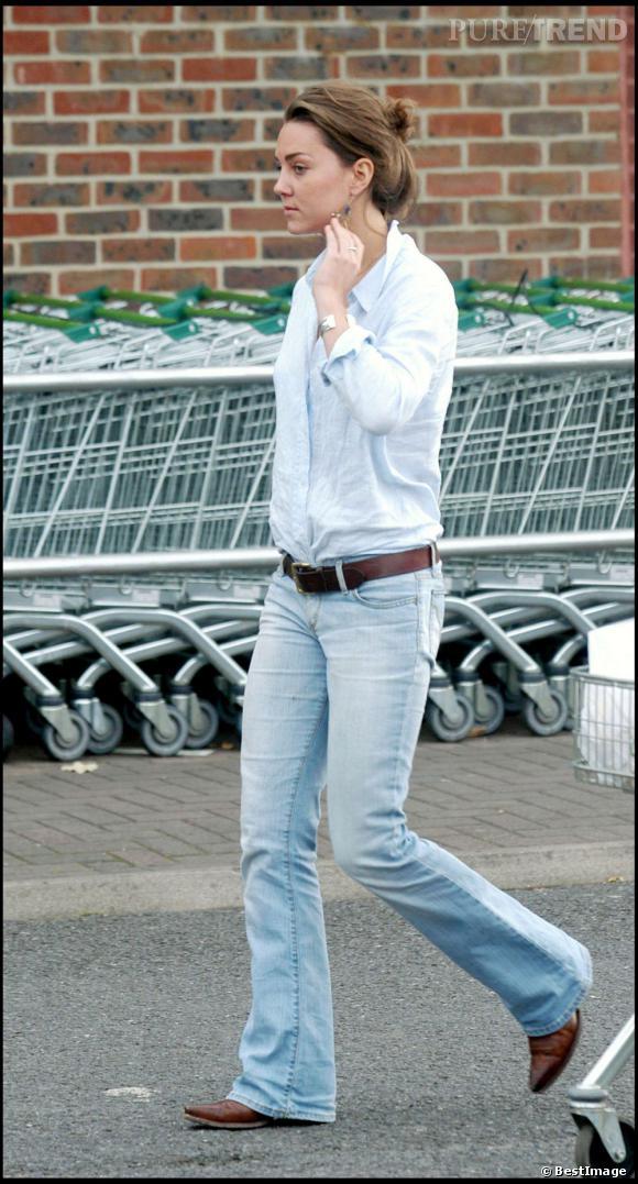 Kate Middleton en jean ? Incroyable mais vrai...