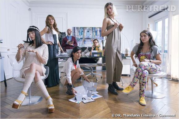 """Reem Kherici dans """"Paris à tout prix"""" : au sein d'une équipe de mode à deux semaines de la Fashion Week."""
