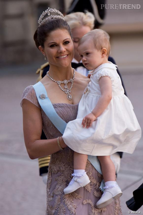 La Princesse héritière Victoria de Suède fête ses 36 ans aujourd'hui.