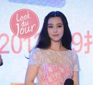 Fan Bingbing, du rose et de la douceur a Pekin