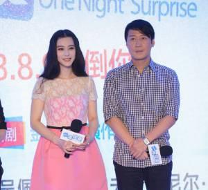 Fan Bingbing et un des acteurs du film, Leon Lai.