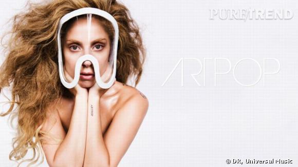 """Lady Gaga révèle la date de sortie d'un nouveau single et de son album """"ARTPOP"""" sur sa page Facebook."""