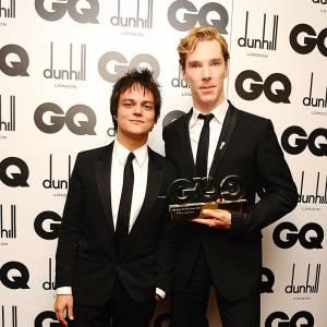 Benedict Cumberbatch élu Men Of The Year par GQ en 2011... et homme le plus sexy pas The Sun l'année dernière.