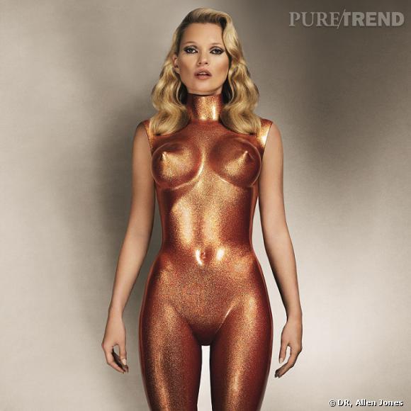 Sculpture de Kate Moss en bronze. Allen Jones. 2013. Estimée entre 20 000 et 30 000£.