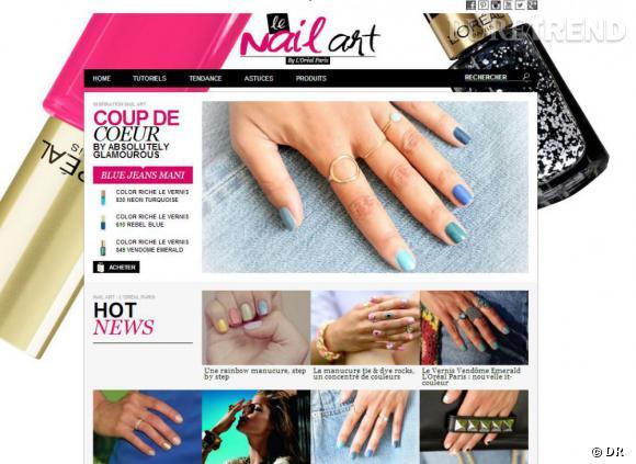 Le nouvel allié des nailistas débutantes ou confirmées : www.le-nail-art.fr