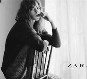 Le top a même posé pour la campagne de l'Automne-Hiver 2012/2013 de Zara.